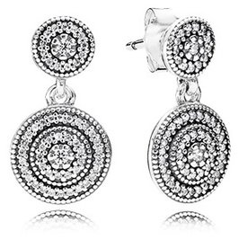 Pandora Radiant Elegance Drop Earrings