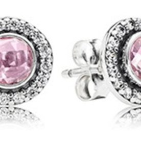Pandora Brilliant Legacy Pink Earrings