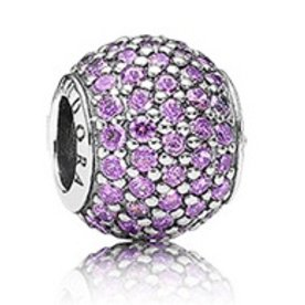 Pandora Pave Lights, Purple Charm