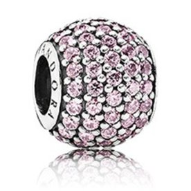 Pandora Pave Lights, Pink Charm