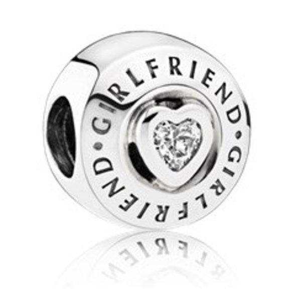 Pandora Girlfriend Charm