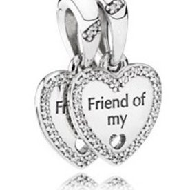 Pandora Hearts of Friendship Dangle Charm