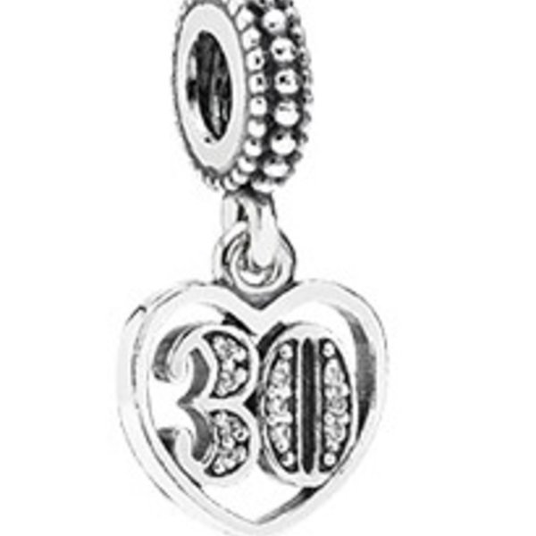 Pandora 30 Years of Love Charm