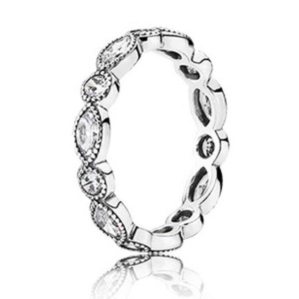 Pandora Alluring Brilliant Marquise Ring, Size 7.5