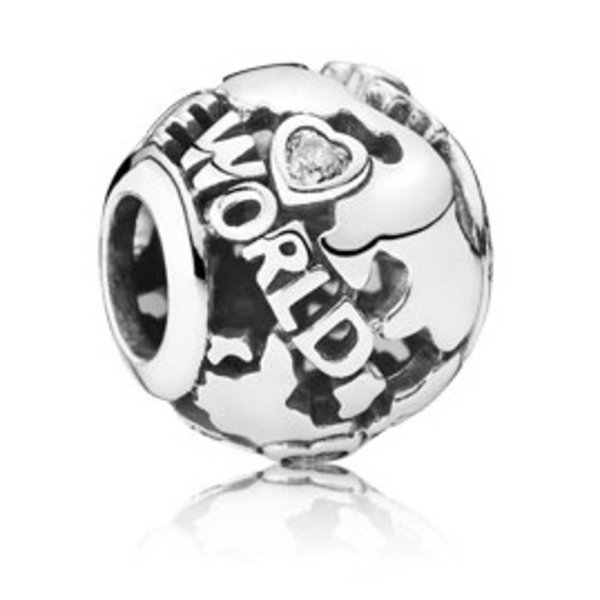 Pandora Around The World Charm