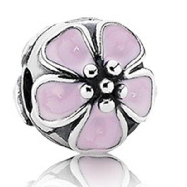 Pandora Cherry Blossom Clip, Silver