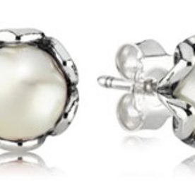 Pandora Cultured Elegance Stud Earrings