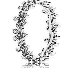 Pandora Dazzling Daisy Meadow Ring, Size 7.5