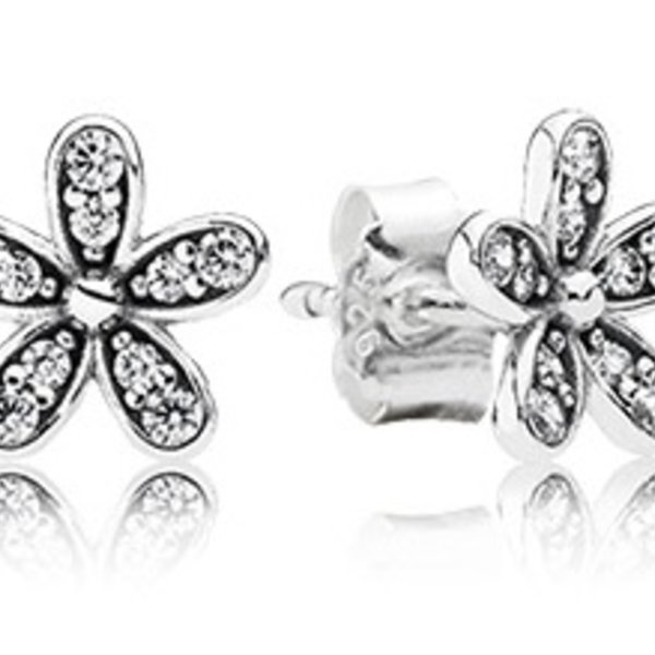 Pandora Dazzling Daisy Stud Earrings