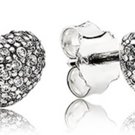 Pandora In My Heart Stud Earrings