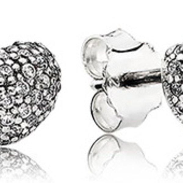 Pandora In My Heart Stud Earrings