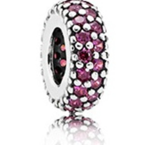 Pandora Inspiration Within Spacer, Red