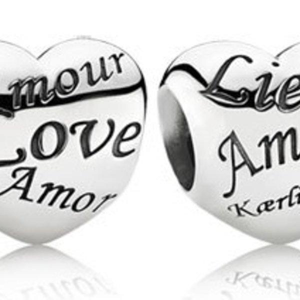 Pandora Language of Love Charm