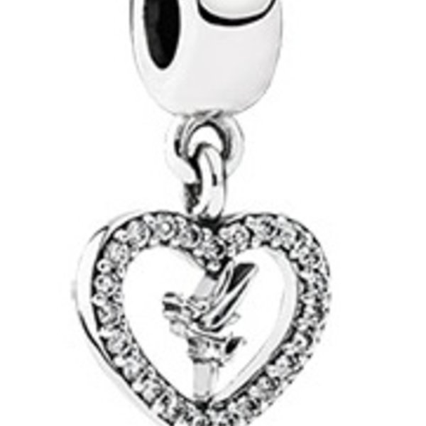 Pandora Love Tinker Bell Charm