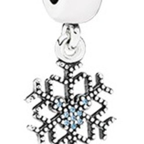 Pandora Mickey's Sparkling Snowflake Charm