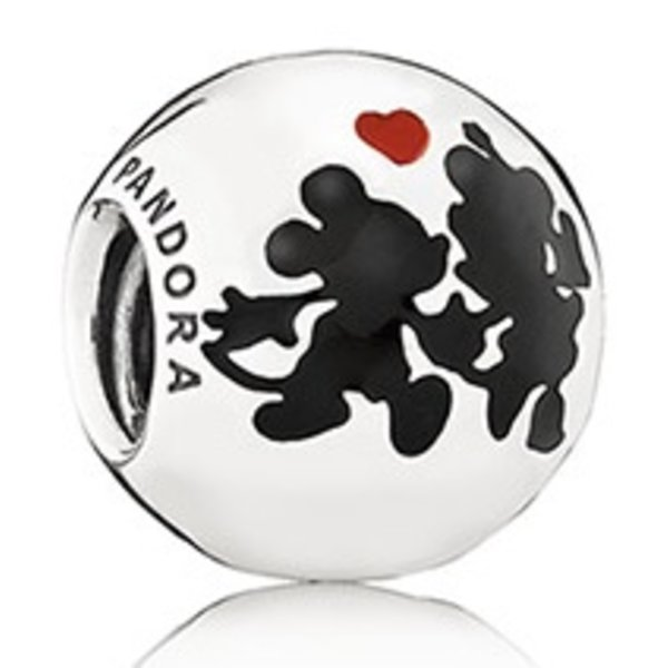 Pandora Minnie & Mickey Forever Charm
