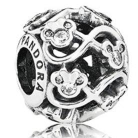 Pandora Minnie & Mickey Infinity Charm