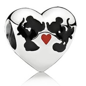 Pandora Minnie & Mickey Kiss Charm