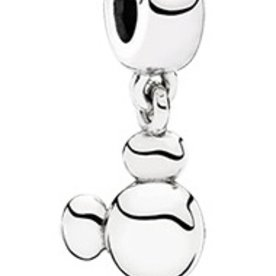 Pandora Solid Mickey Icon Charm