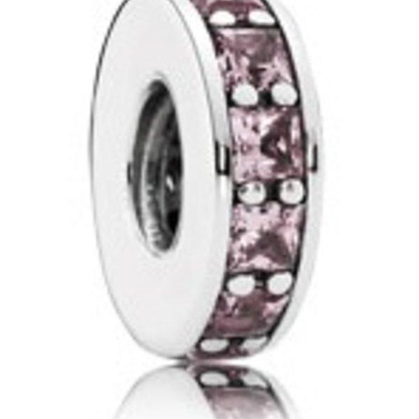Pandora Eternity Spacer, Blush Pink