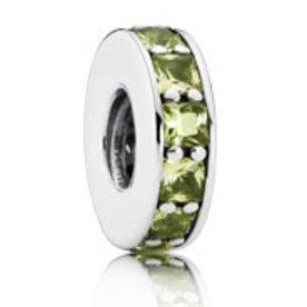 Pandora Eternity Spacer, Olive- Green