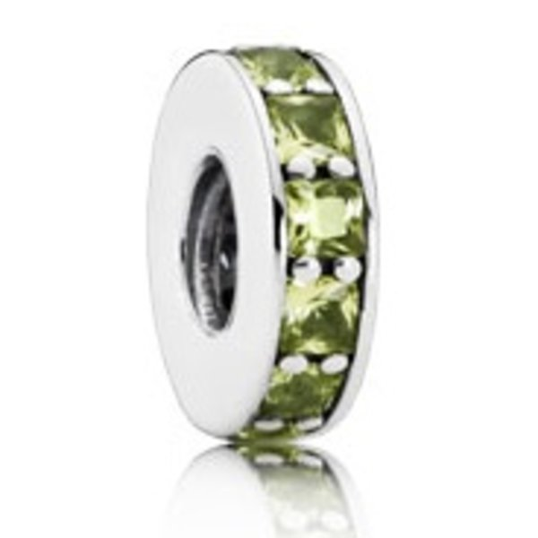 Pandora Eternity Spacer, Olive- Green