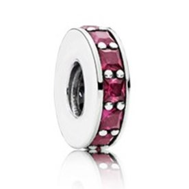 Pandora Eternity Spacer, Synthetic Ruby