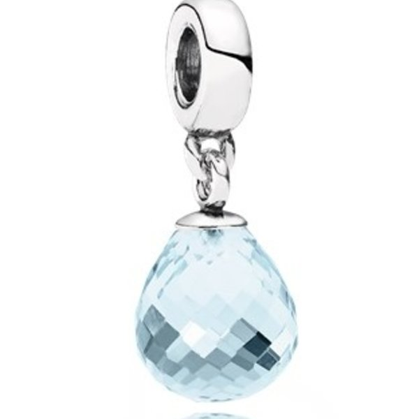Pandora Faceted Beauty Murano Glass