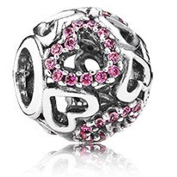 Pandora Falling in Love, Pink Charm