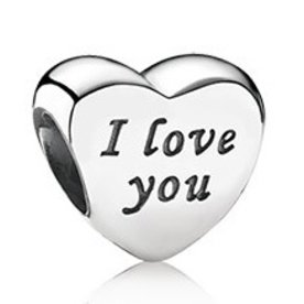 Pandora Words of Love Charm