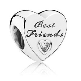 Pandora Friendship Heart Charm