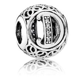 Pandora Vintage D Charm