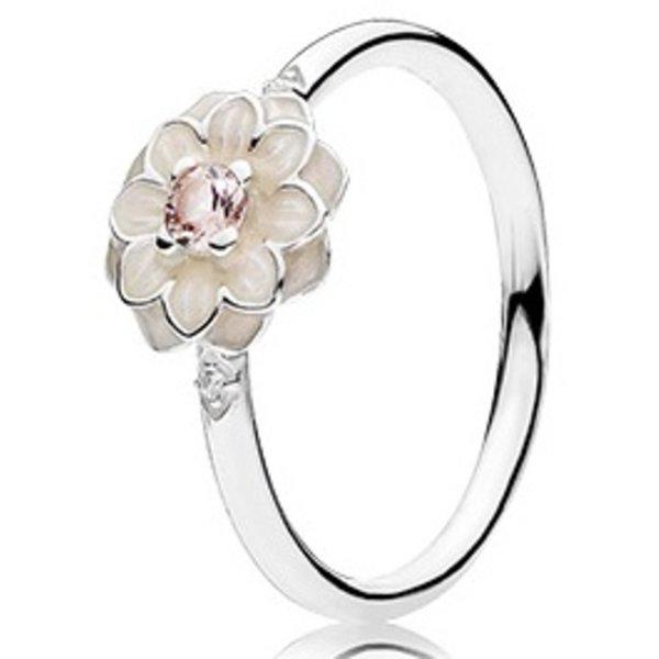 Pandora Blooming Dahlia Ring, Size 4.5