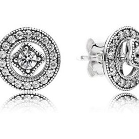 Pandora Vintage Allure Detachable Stud Earrings