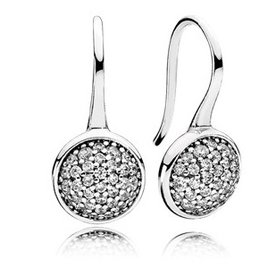 Pandora Dazzling Droplet Earrings