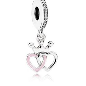 Pandora Crowned Hearts Charm