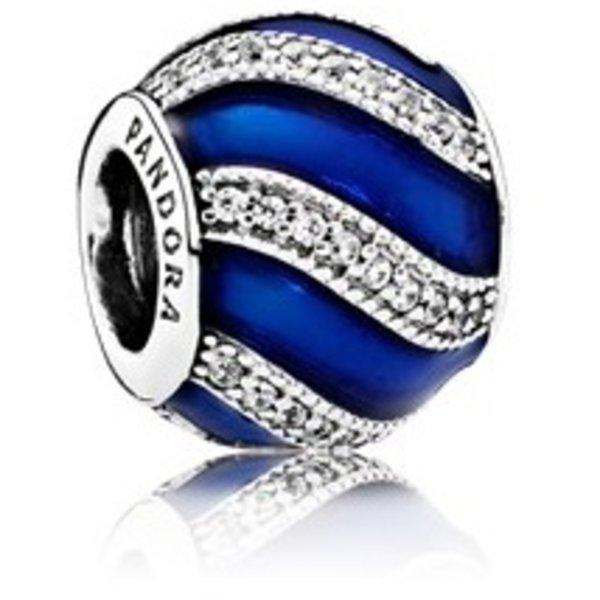 Pandora Blue Adornment Charm