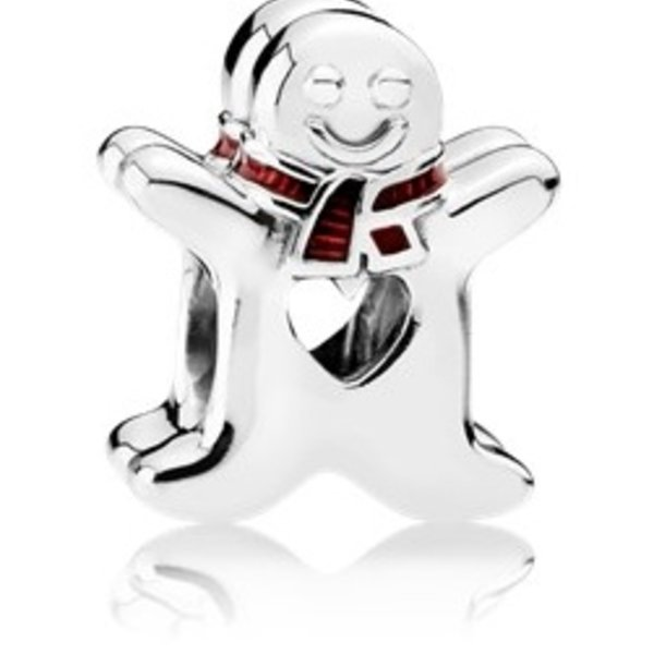 Pandora Sweet Gingerbread Man Charm