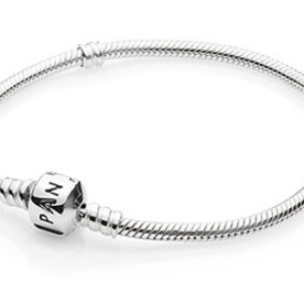 Pandora Sterling Silver Bracelet, Size 23