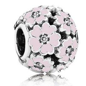Pandora Pink Primrose Meadow Charm