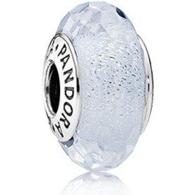 Pandora Frosty Mint Shimmer Murano Glass
