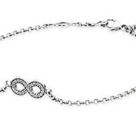 Pandora Infinity Bracelet, 6.3in