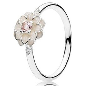 Pandora Blooming Dahlia Ring, Size 6