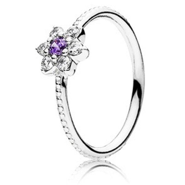 Pandora Forget Me Not, Smaller Ring, Size 8.5