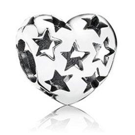 Pandora Starry Heart Charm