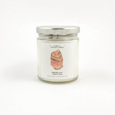 Big Sister Tiger's Eye Candle