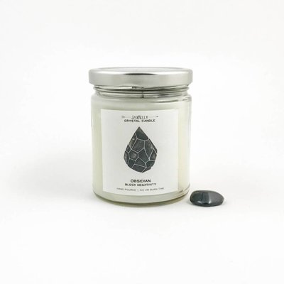 Big Sister Obsidian Candle