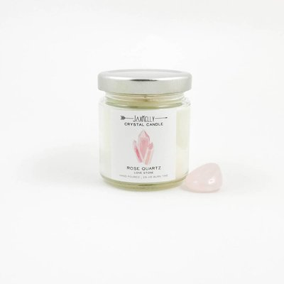 Little Sister Rose Quartz Candle