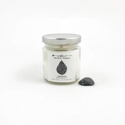Little Sister Obsidian Candle