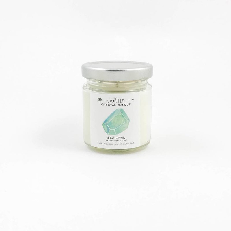 Little Sister Sea Opal Candle